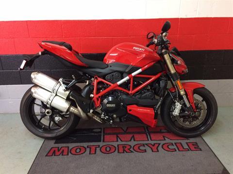 2015 Ducati Streetfighter 848 in Asheville, North Carolina