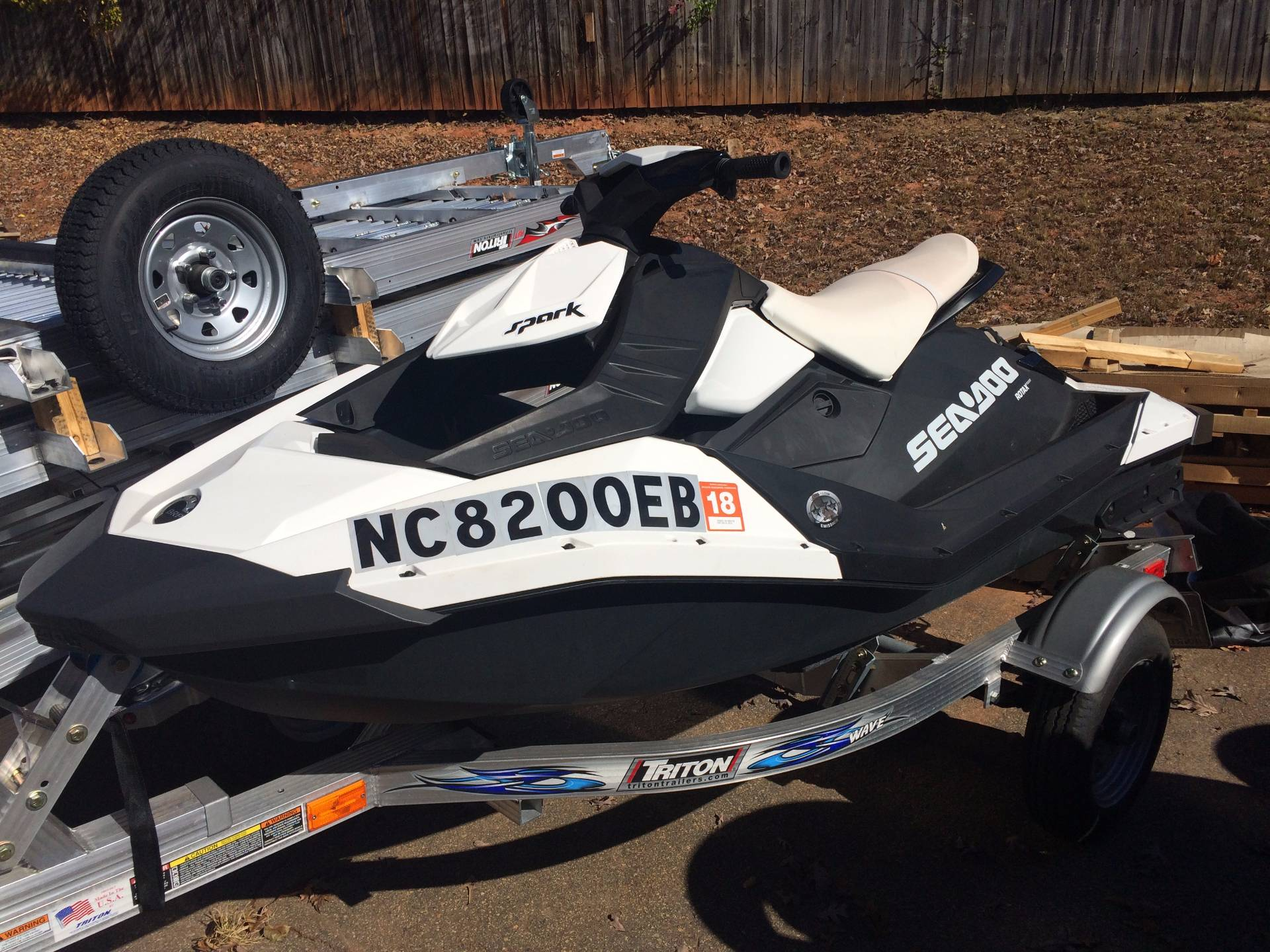 2015 Sea-Doo Spark™ 2up 900 H.O. ACE™ in Asheville, North Carolina
