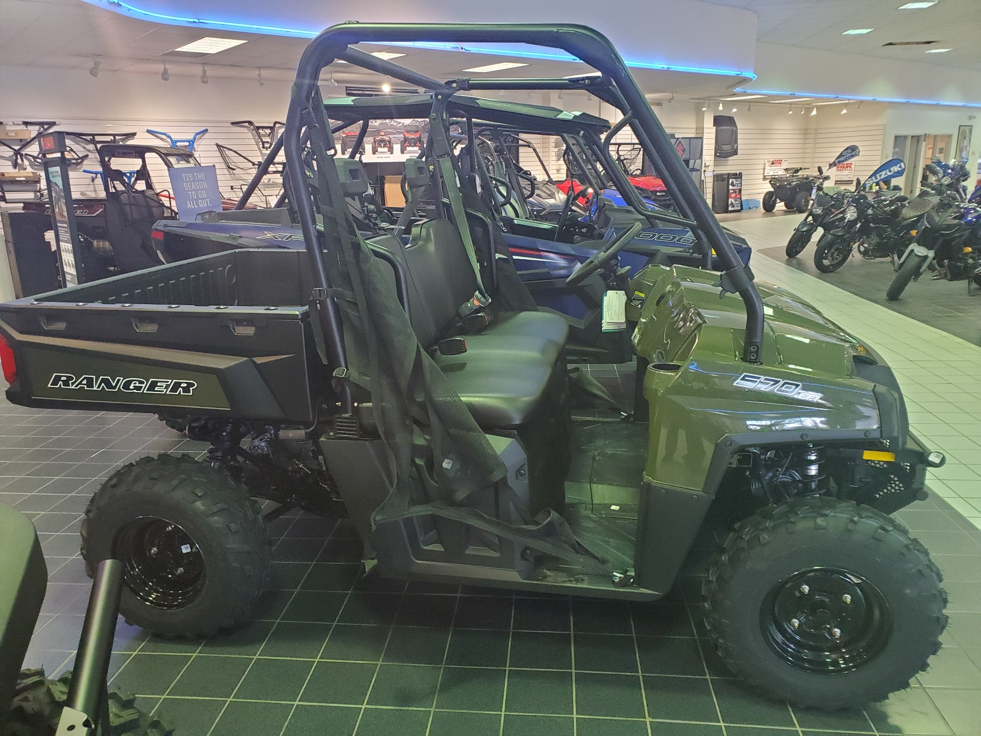 2021 Polaris Ranger 570 Full-Size in Asheville, North Carolina - Photo 1