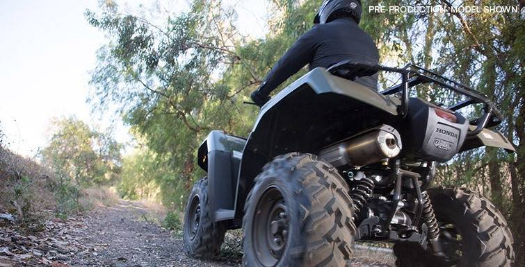 2017 Honda FourTrax Foreman Rubicon 4x4 EPS in Asheville, North Carolina