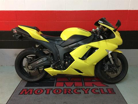 2008 Kawasaki Ninja® ZX™-6R in Asheville, North Carolina