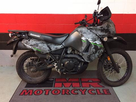 2016 Kawasaki KLR 650 Camo in Asheville, North Carolina