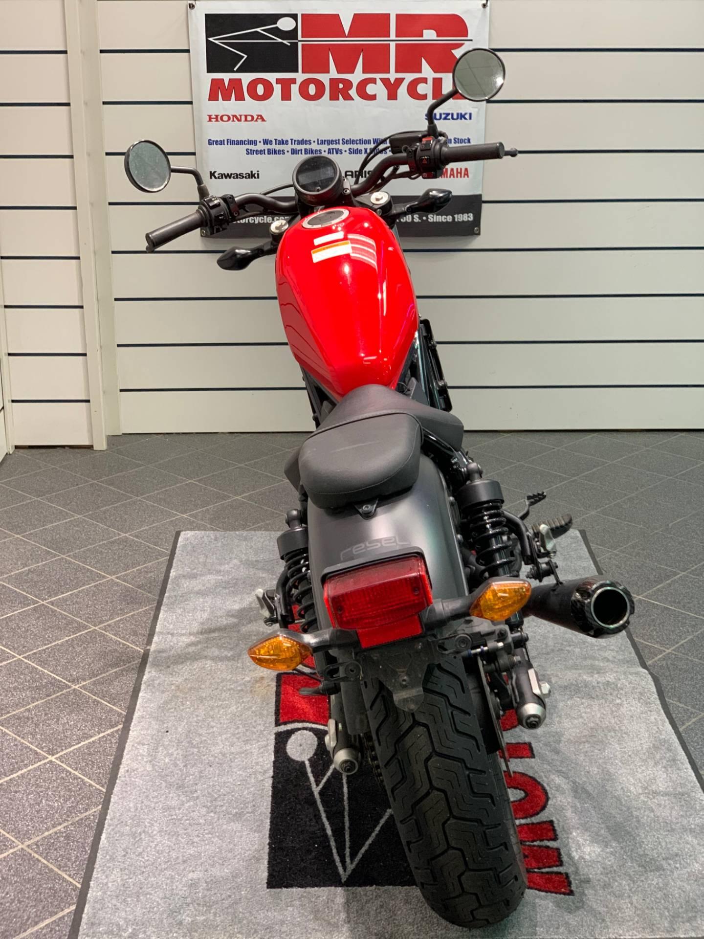 2017 Honda Rebel 300 3