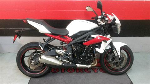 2014 Triumph Street Triple R ABS in Asheville, North Carolina