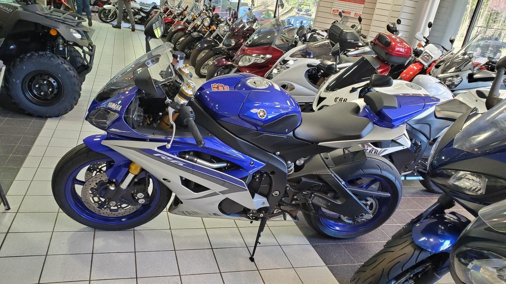 2015 Yamaha YZF-R6 2