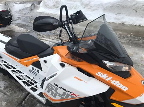 2017 Ski-Doo Summit X 165 850 E-TEC E.S., PowderMax 2.5 in. in Toronto, South Dakota - Photo 6