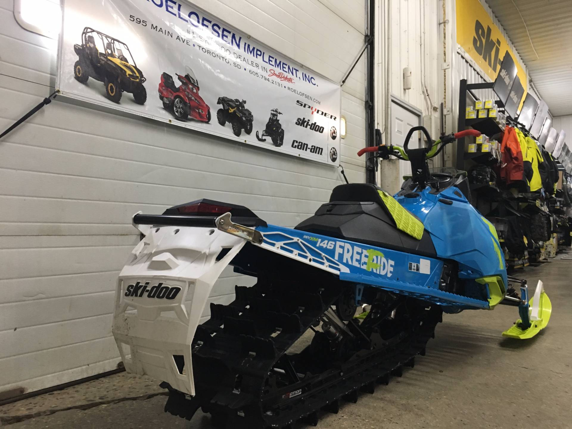 "2017 Ski-Doo Freeride 146 E.S. Powdermax 2.5"" in Toronto, South Dakota"