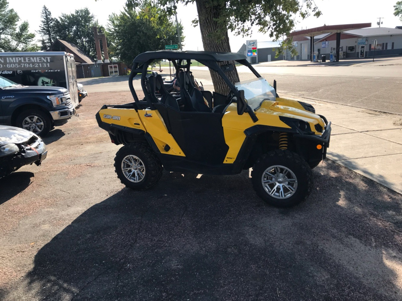 2014 Can-Am Commander XT 800R for sale 178618