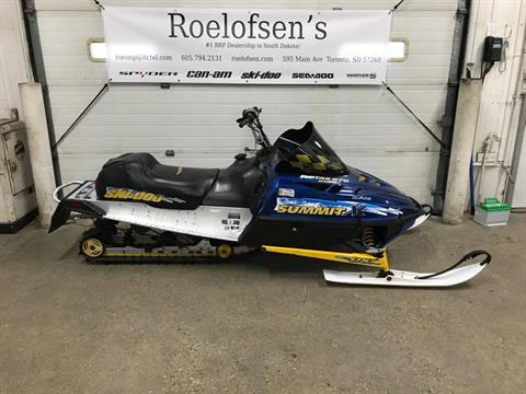 1999 Ski-Doo SUMMIT X670 in Toronto, South Dakota