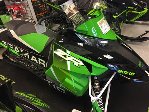 2017 Arctic Cat 2017 ZR 6000 137 R ES EB GRN in Elma, New York