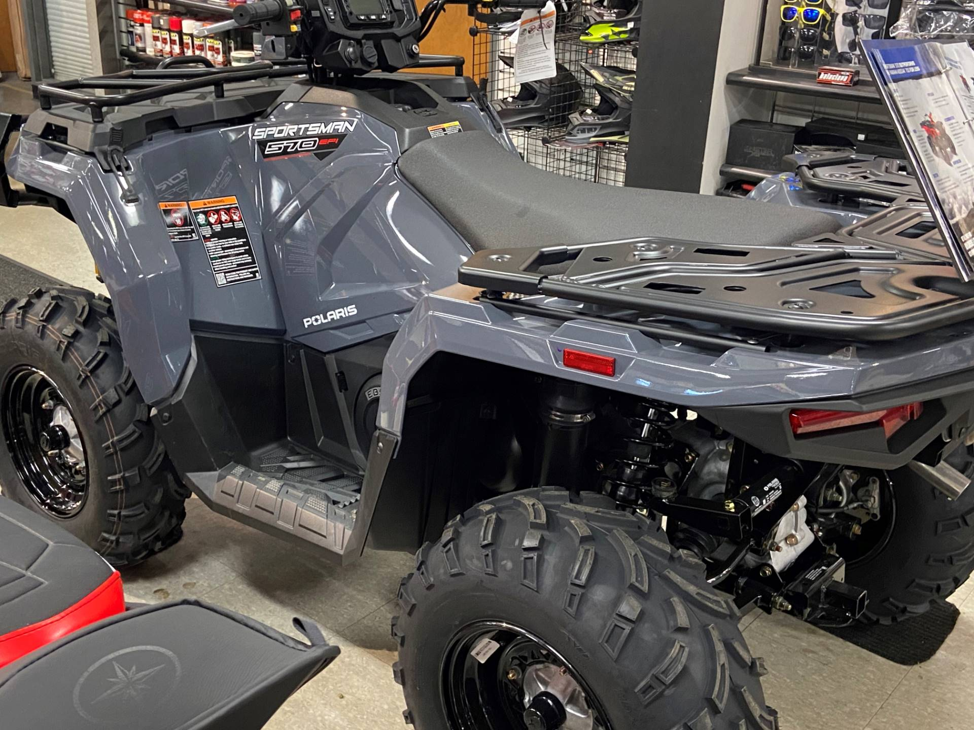 2021 Polaris Sportsman 570 Utility HD Limited Edition in Elma, New York - Photo 2