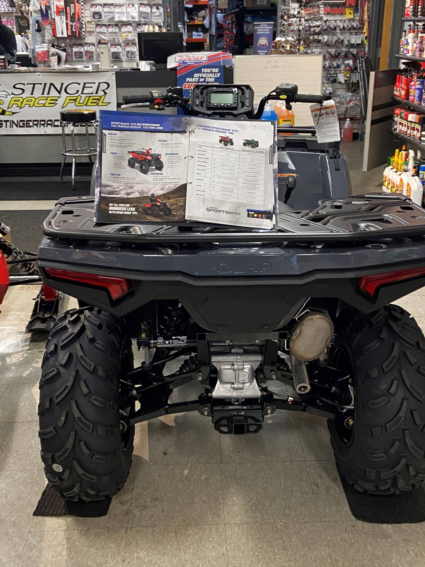 2021 Polaris Sportsman 570 Utility HD Limited Edition in Elma, New York - Photo 4