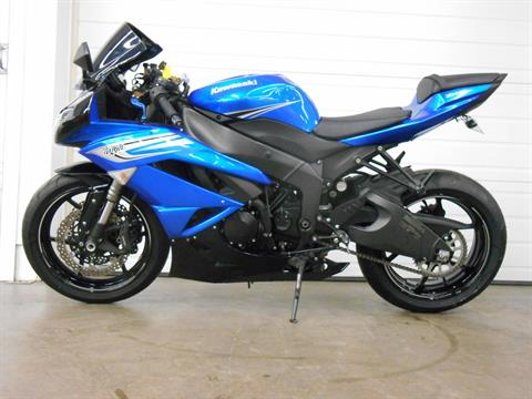 2011 Kawasaki Ninja® ZX™-6R in Dubuque, Iowa