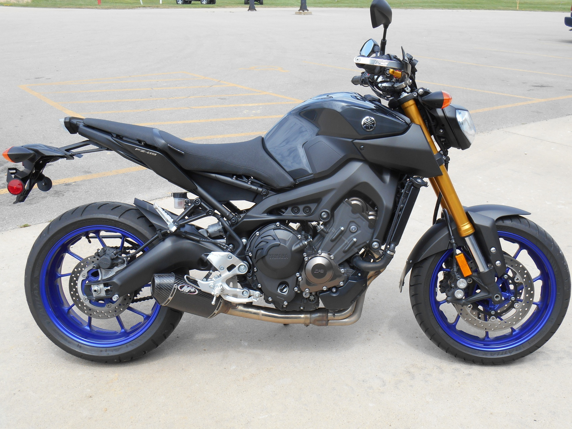 2014 Yamaha FZ09 in Dubuque, Iowa