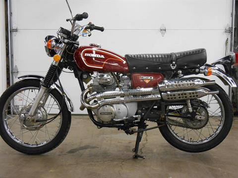 1972 Honda CL350 K4 in Dubuque, Iowa