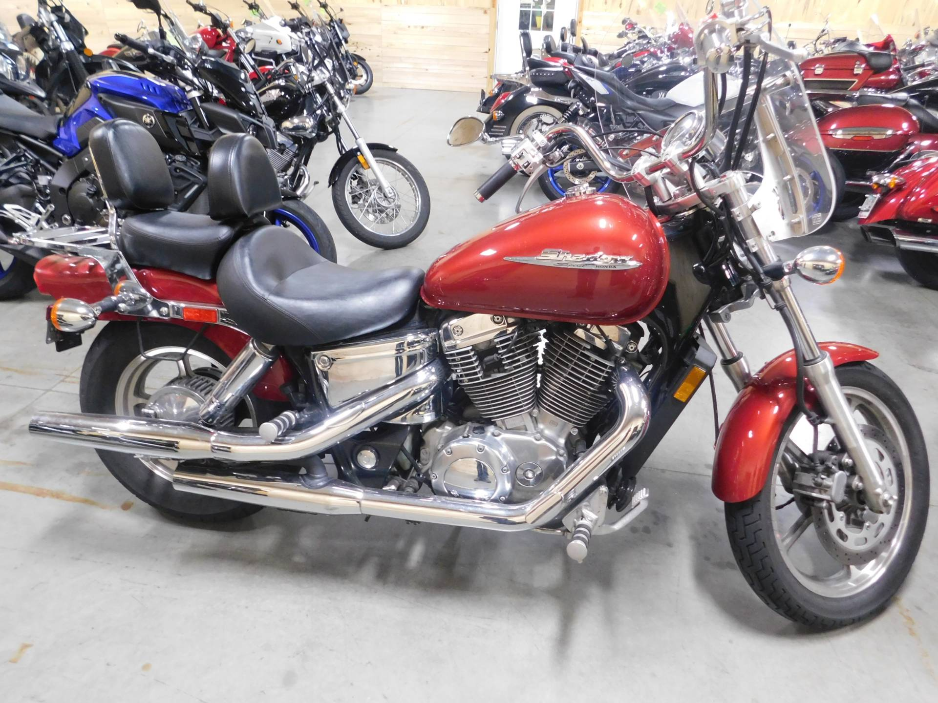 2002 Honda Shadow Spirit in Sauk Rapids, Minnesota - Photo 1