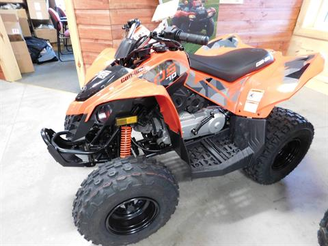 2017 Can-Am DS 70 in Sauk Rapids, Minnesota