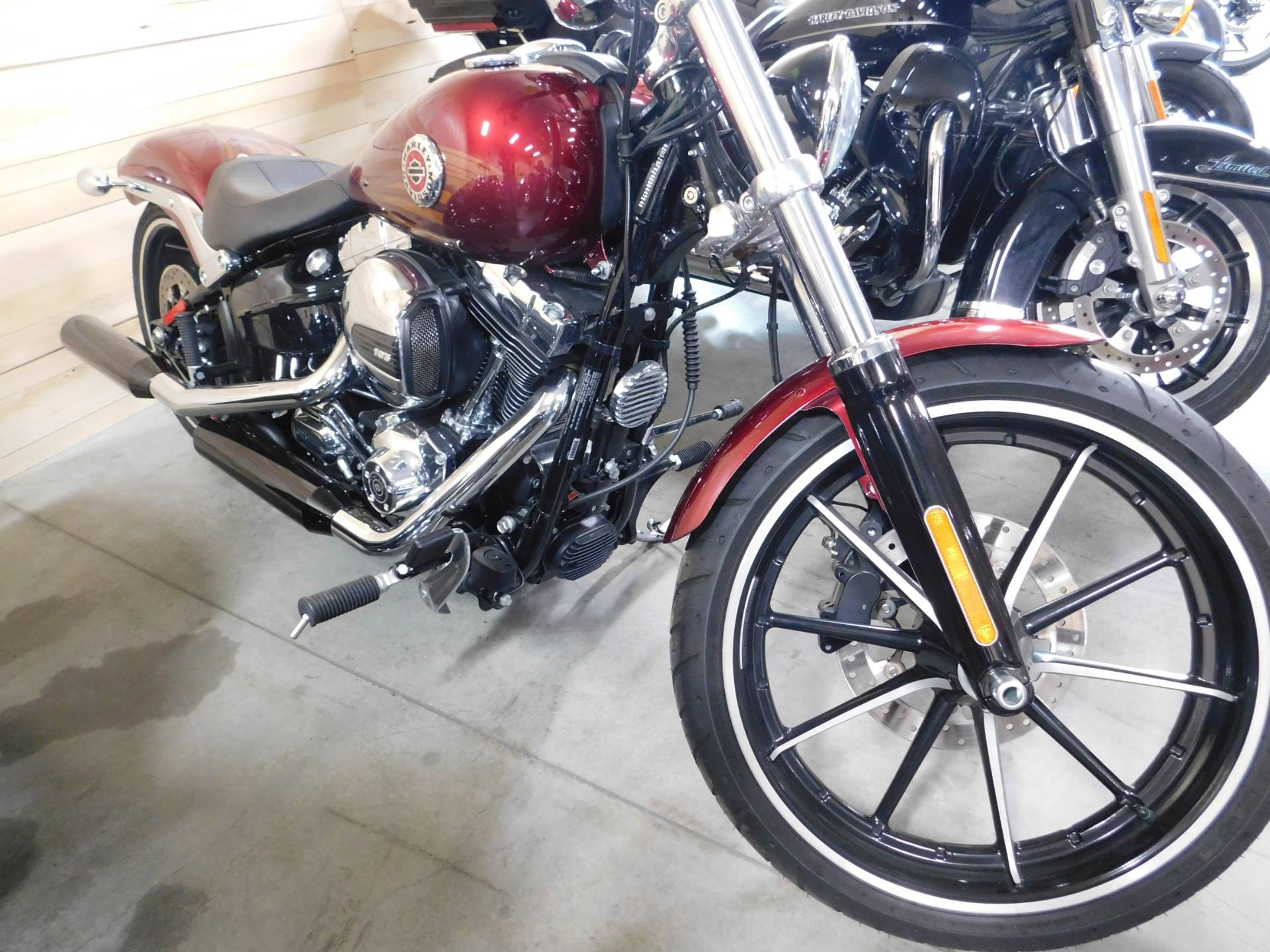 Used Harley Davidson Wheels >> Used 2016 Harley Davidson Breakout Motorcycles In Sauk Rapids Mn