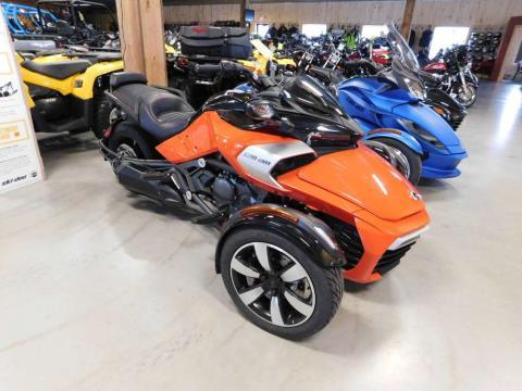 2015 Can-Am Spyder® F3-S SM6 in Sauk Rapids, Minnesota