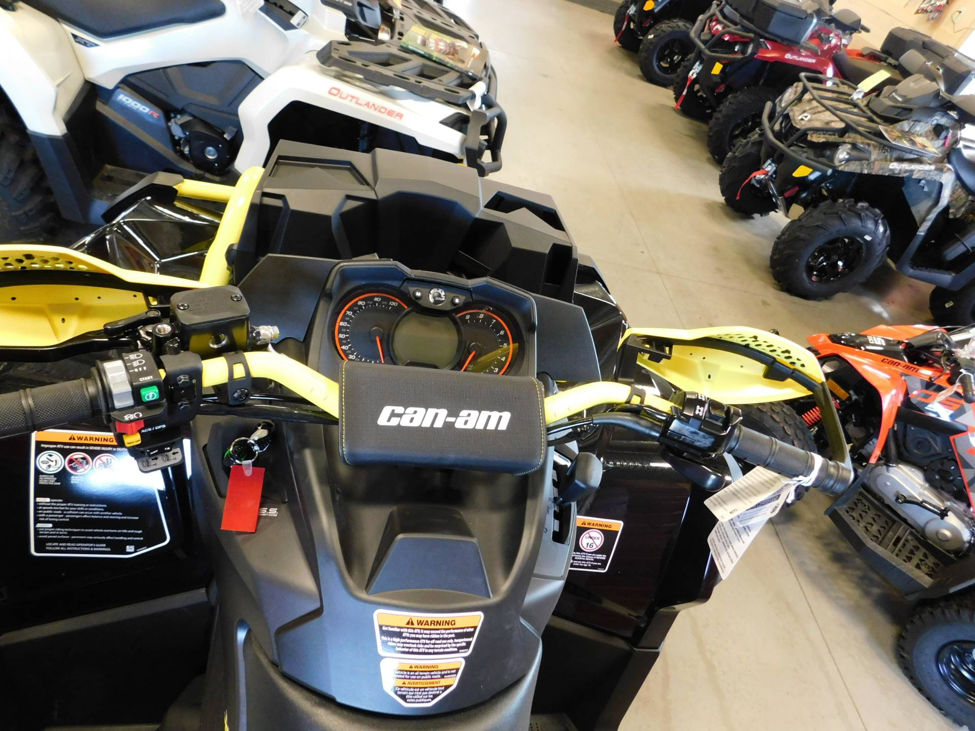 New 2018 Can Am Outlander X mr 1000R ATVs in Sauk Rapids MN