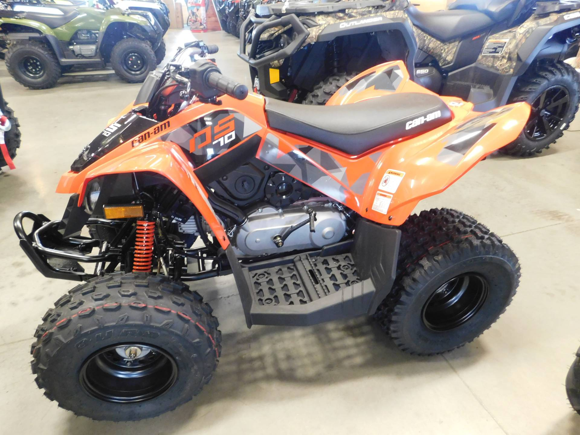 2019 Can-Am DS 70 in Sauk Rapids, Minnesota