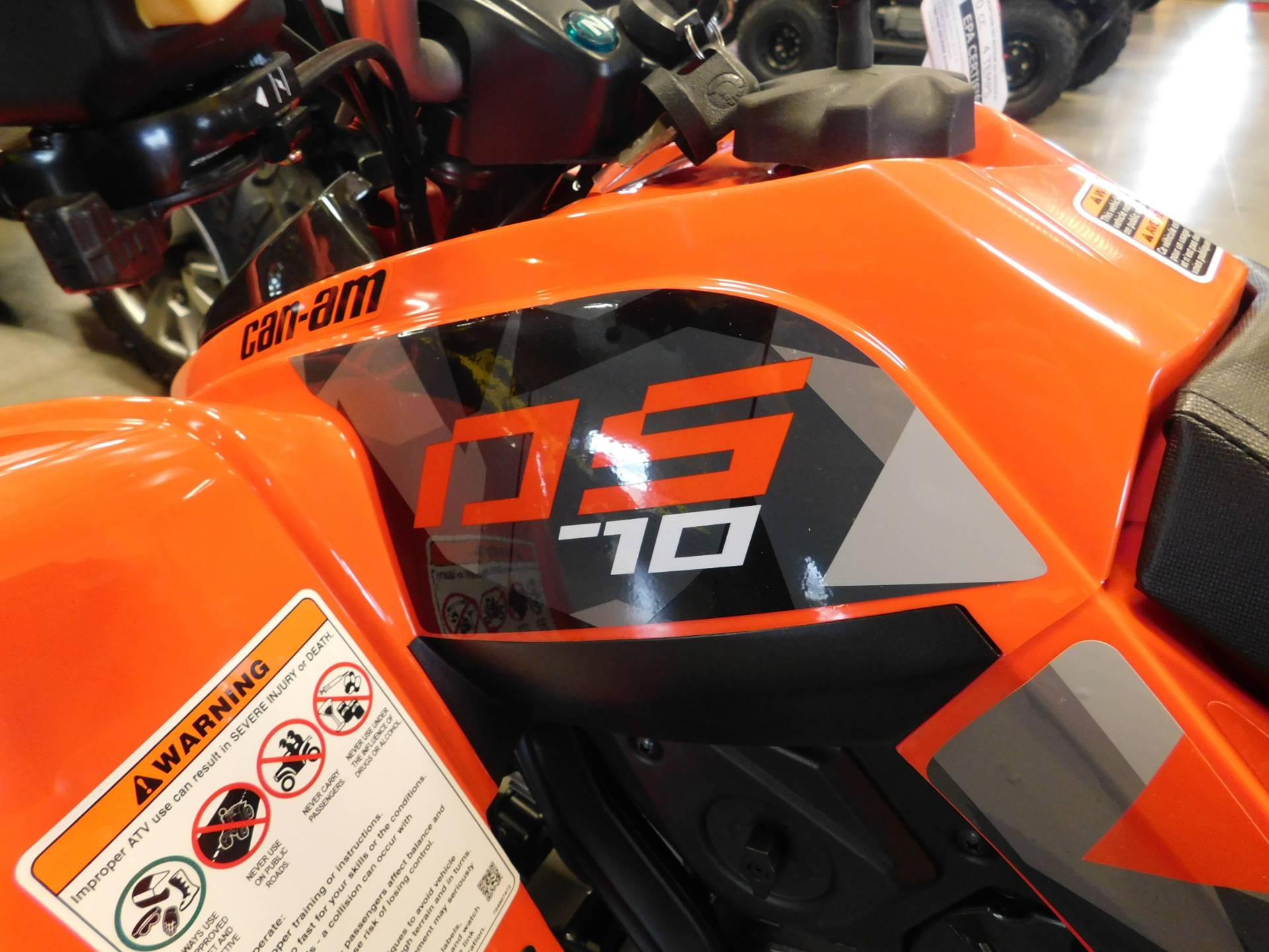 2019 Can-Am DS 70 in Sauk Rapids, Minnesota - Photo 2