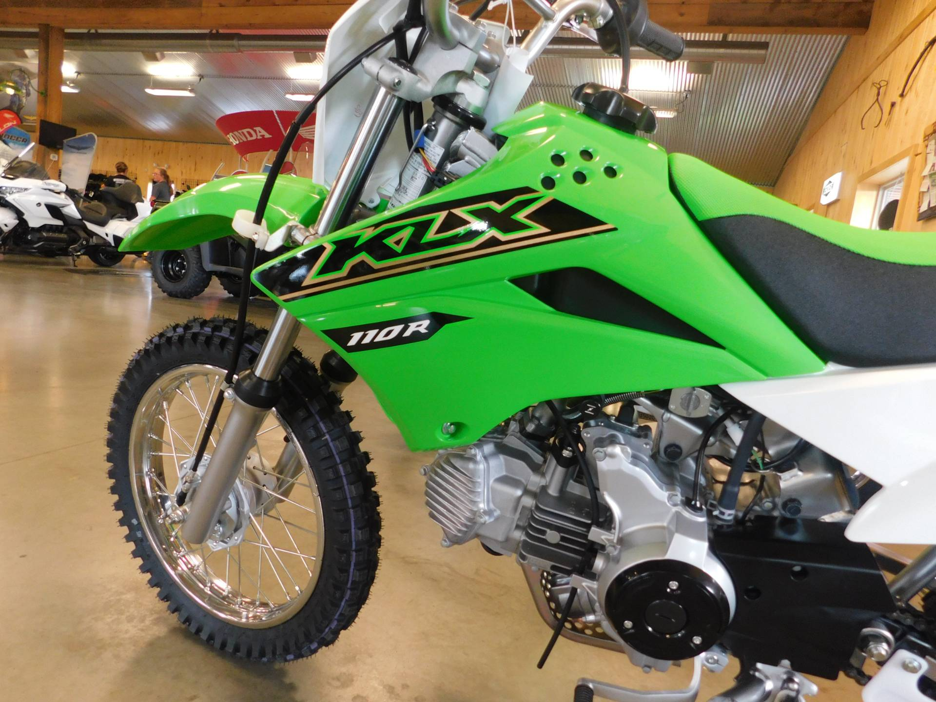 2021 Kawasaki KLX 110R in Sauk Rapids, Minnesota - Photo 5