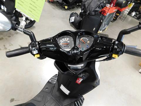 2018 Genuine Scooters Roughhouse 50 in Sauk Rapids, Minnesota