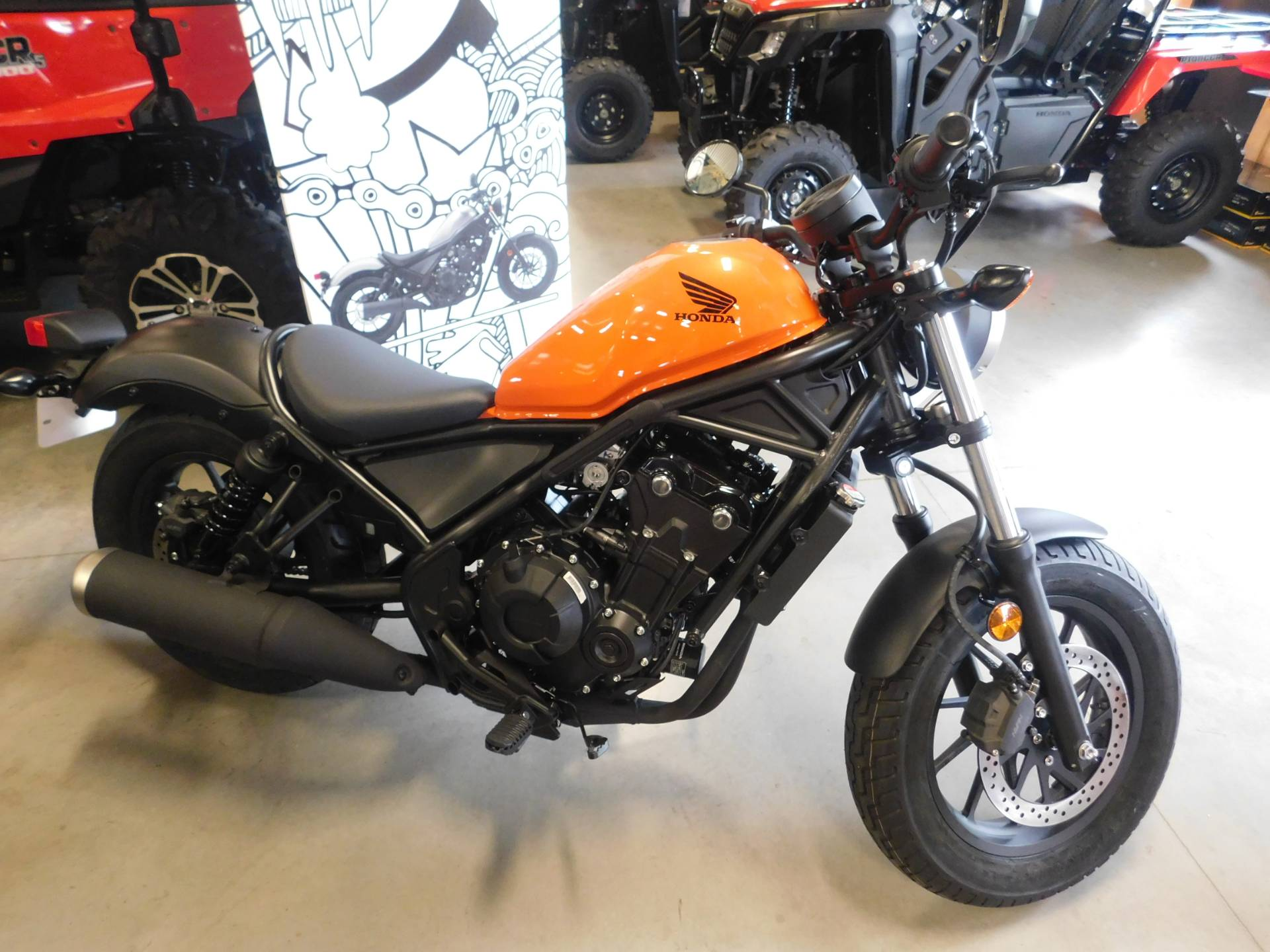 2019 Honda Rebel 500 in Sauk Rapids, Minnesota - Photo 1