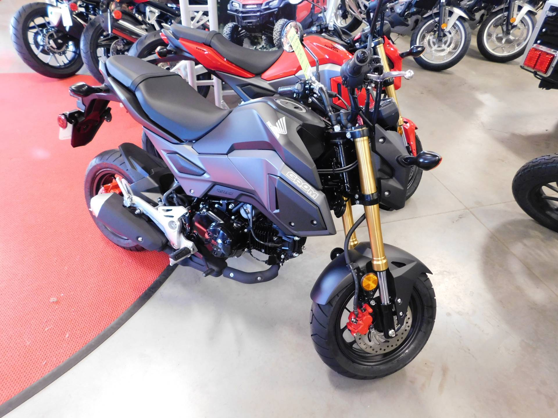 New 2018 Honda Grom Motorcycles in Sauk Rapids MN