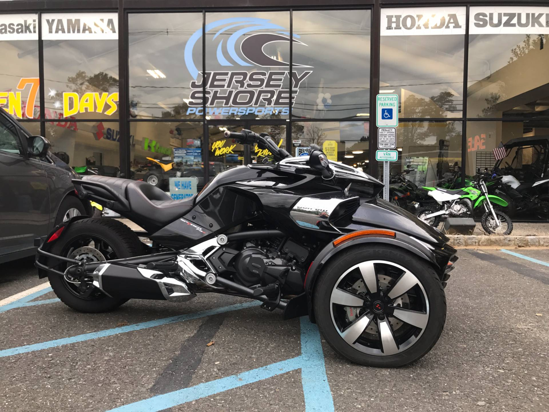 Used 2015 Can Am Spyder F3 SE6 Motorcycles in Middletown NJ