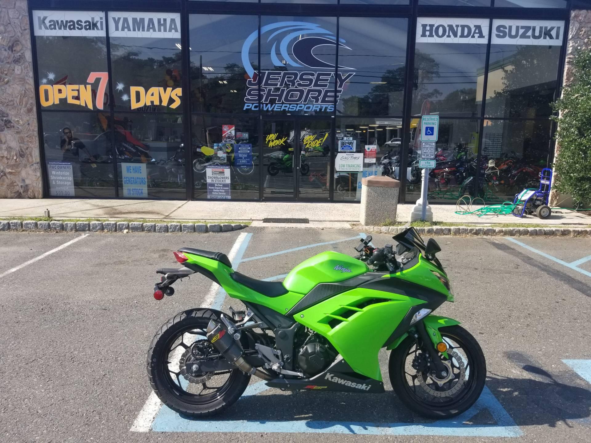 Used 2015 Kawasaki Ninja 300 Abs Lime Green Motorcycles In