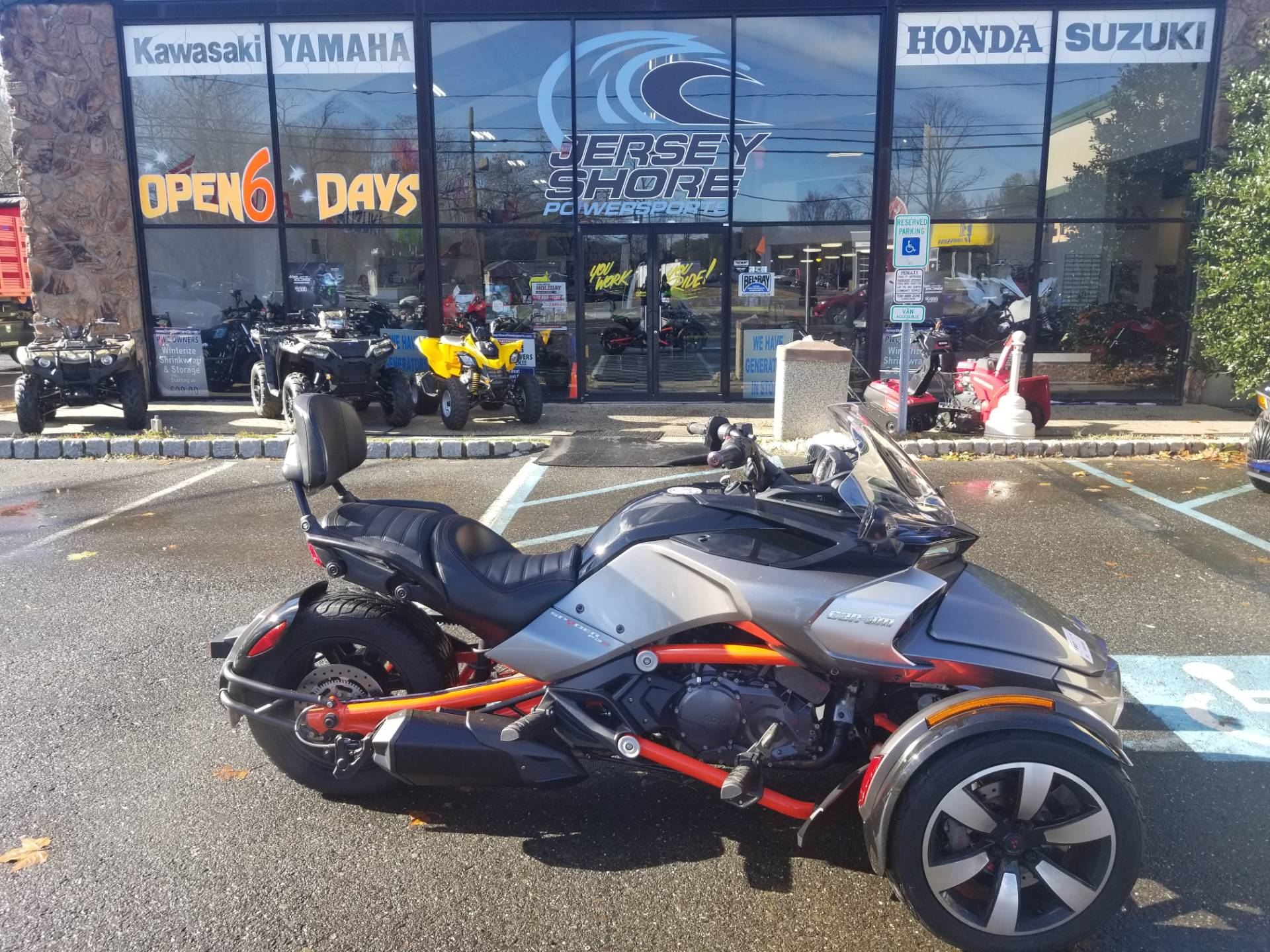 2015 Can-Am Spyder F3-S SE6 for sale 3892