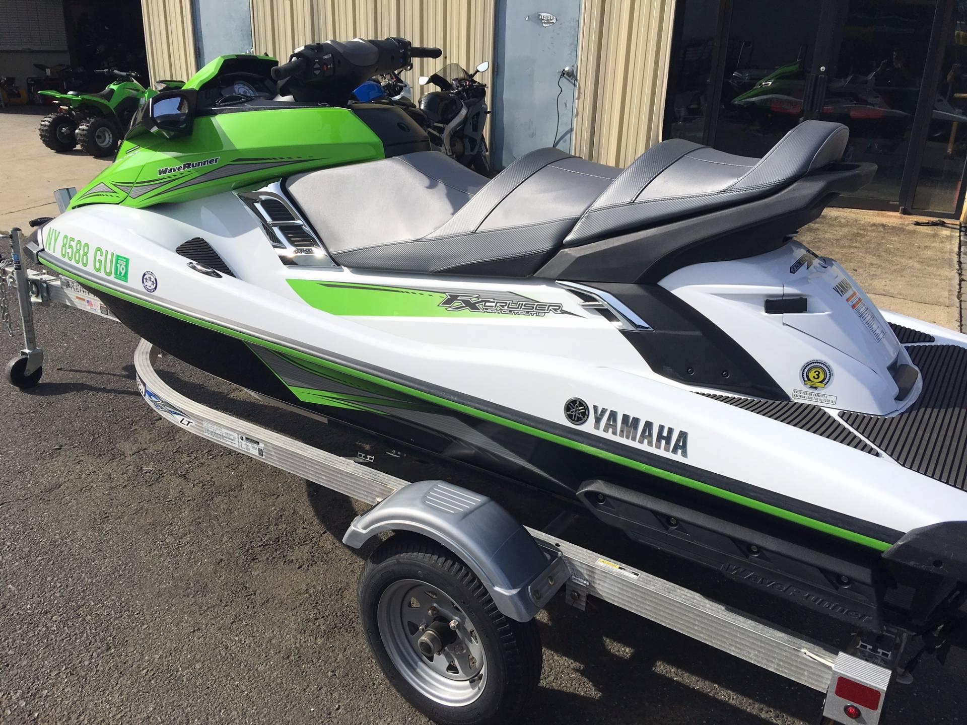 2016 yamaha fx cruiser ho for sale middletown nj 78139 for Yamaha fx cruiser