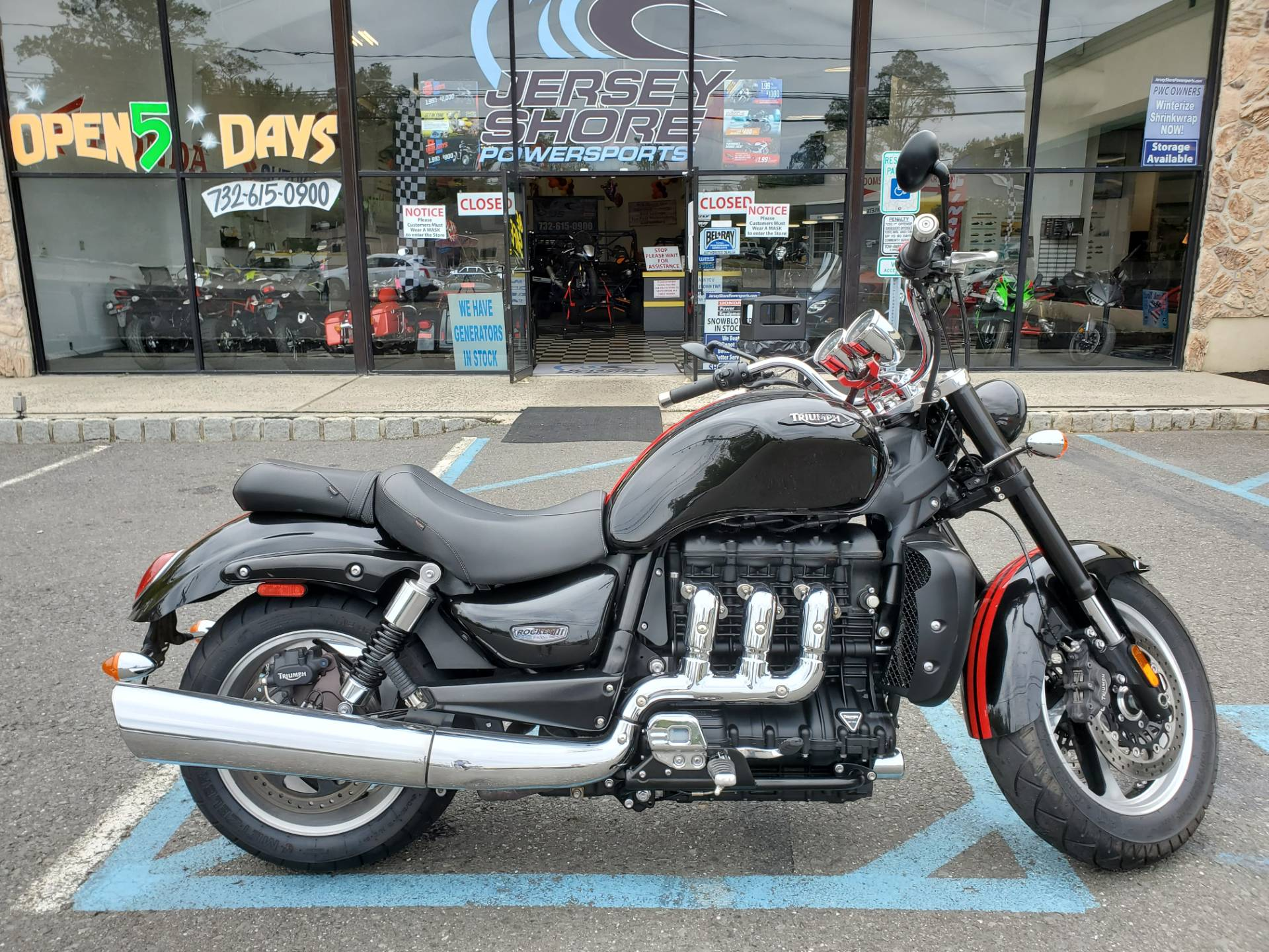 2016 Triumph Rocket III Roadster ABS in Middletown, New Jersey - Photo 1