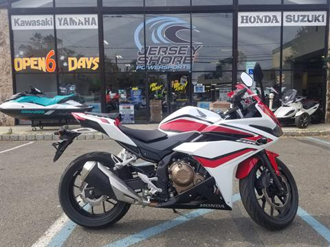 2018 Honda CBR500R in Middletown, New Jersey