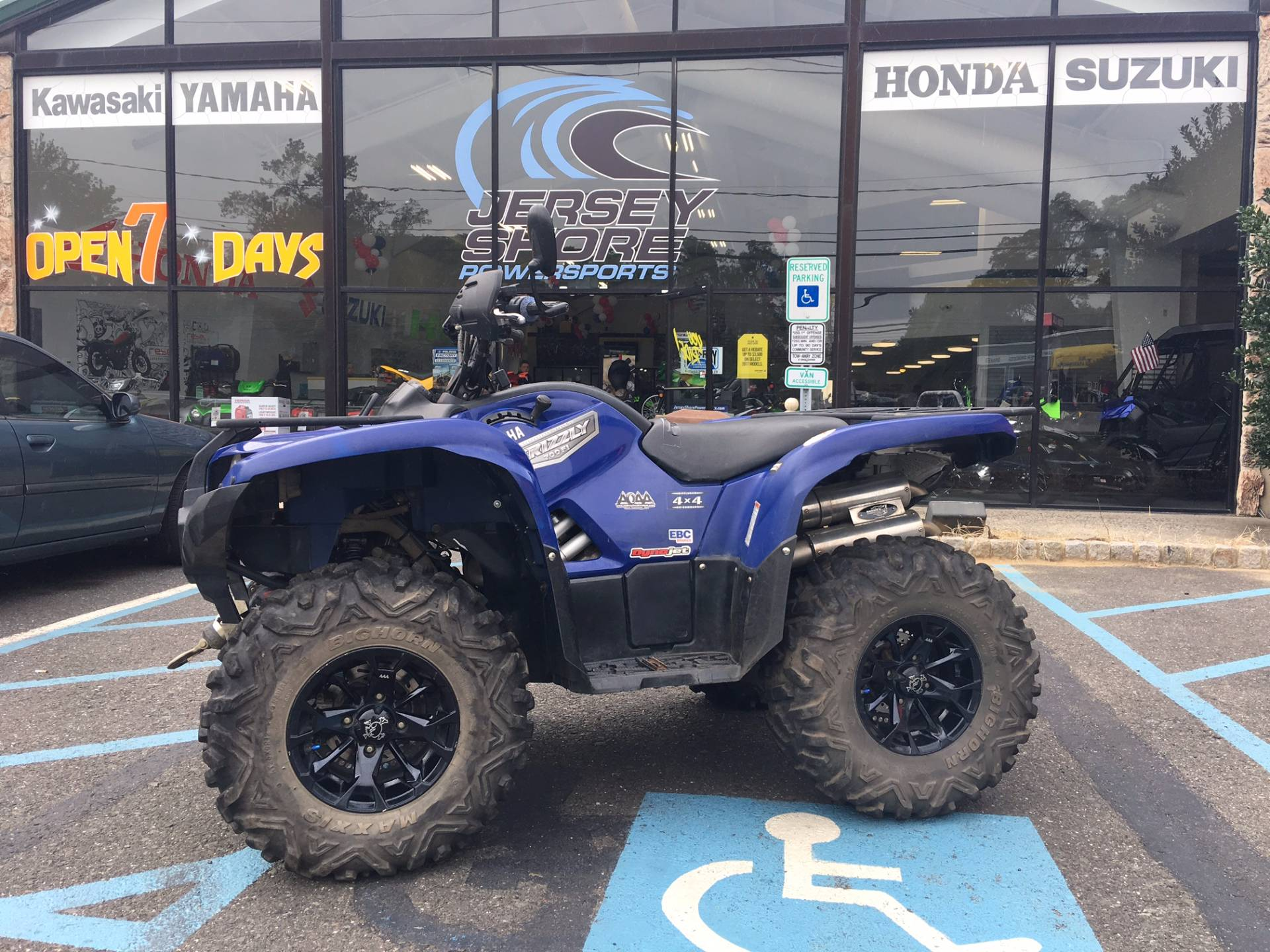 2007 yamaha grizzly 660 auto 4x4 for sale middletown nj for 2007 yamaha rhino 660 blue book value