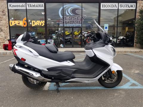 2018 Suzuki Burgman 650 Executive in Middletown, New Jersey