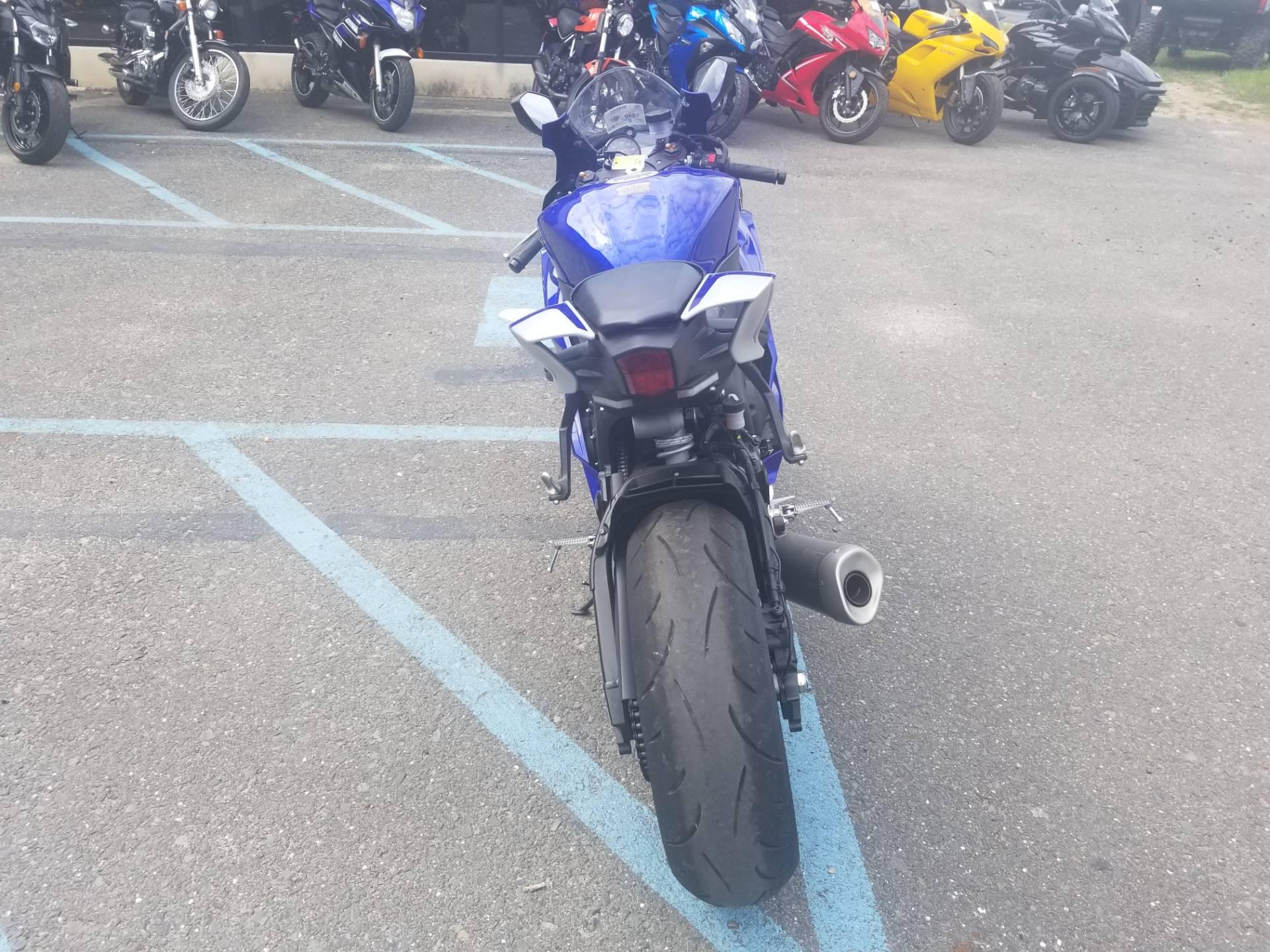 2017 Yamaha YZF-R6 2