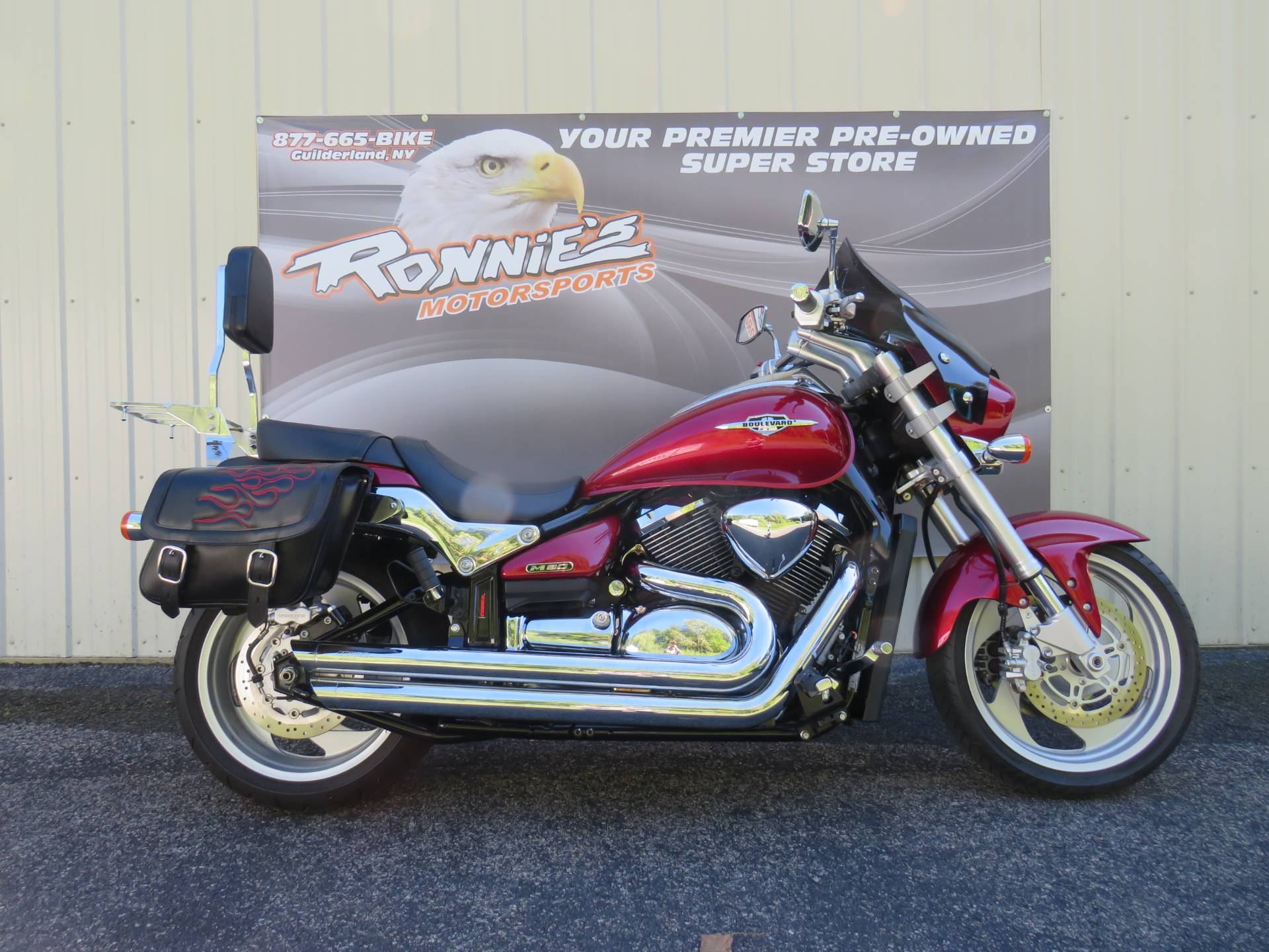 2009 Suzuki Boulevard M90 in Guilderland, New York - Photo 1