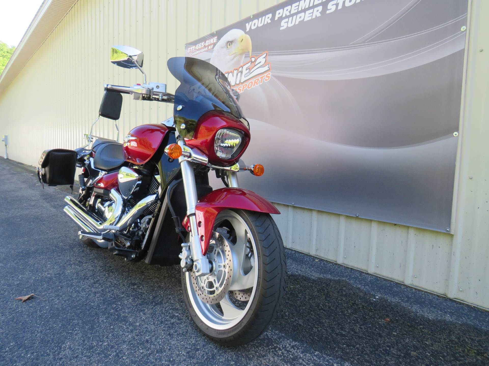 2009 Suzuki Boulevard M90 in Guilderland, New York - Photo 2