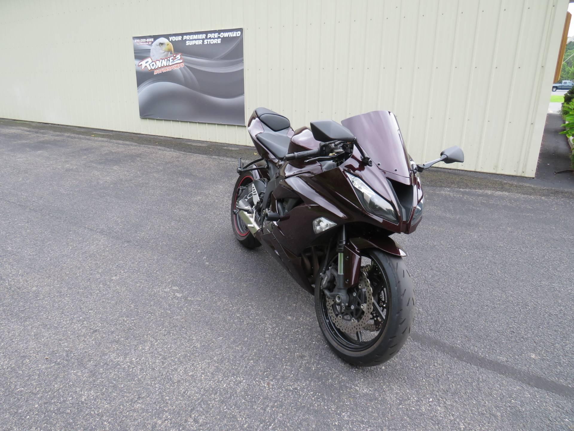 2013 Kawasaki Ninja® ZX™-6R in Guilderland, New York