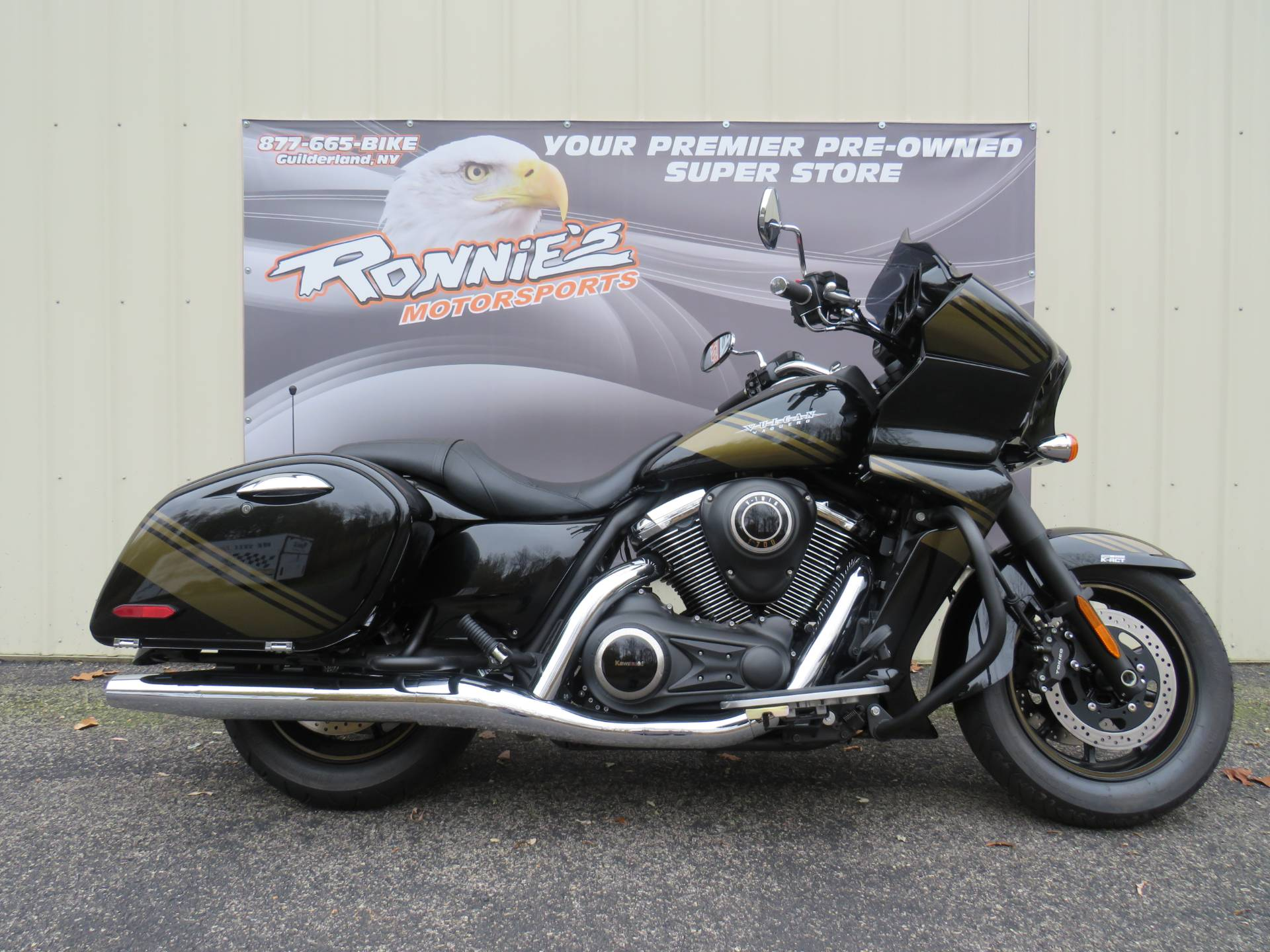 2019 Kawasaki Vulcan 1700 Vaquero ABS in Guilderland, New York - Photo 1