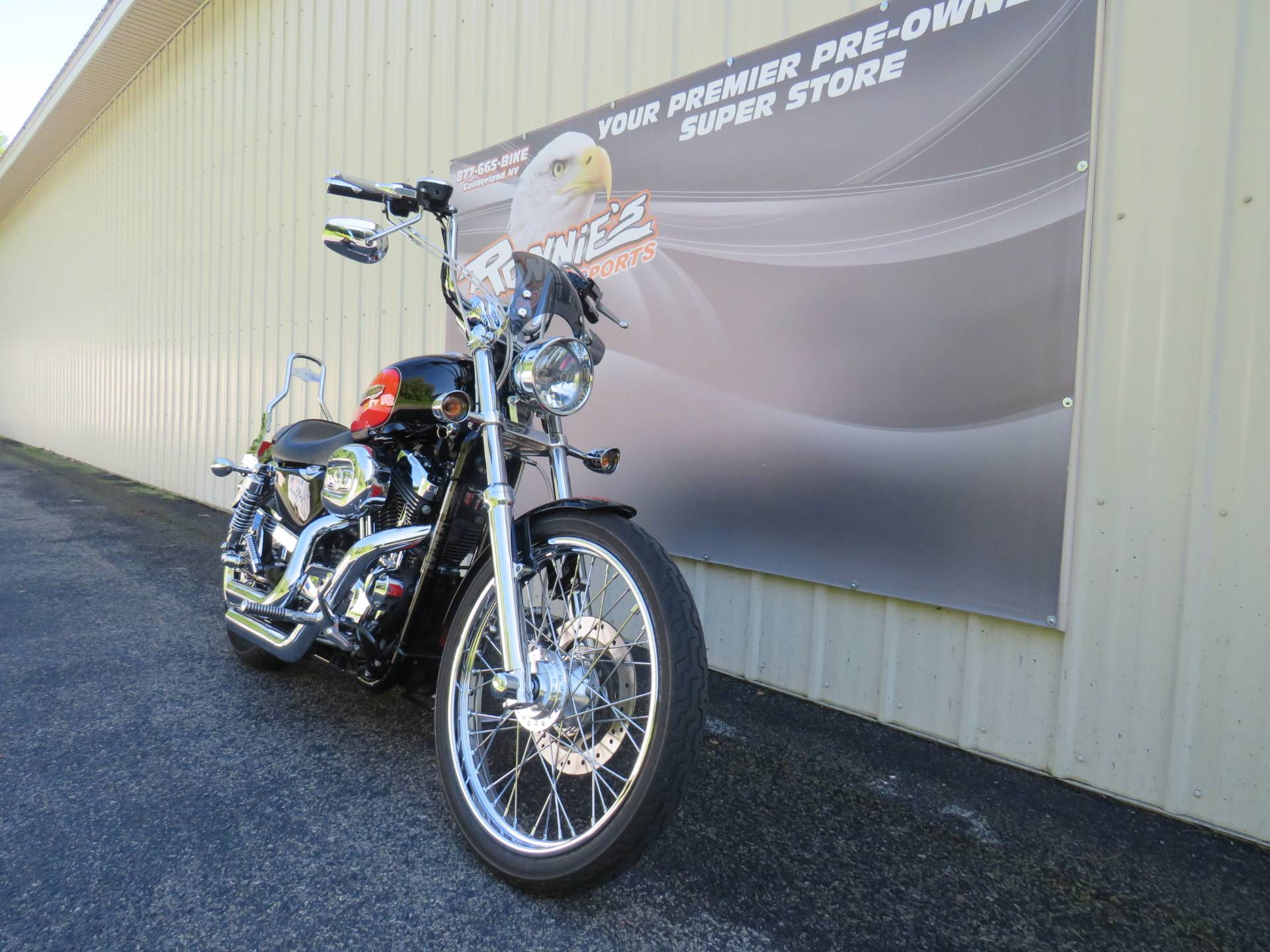 2009 Harley-Davidson Sportster® 1200 Custom in Guilderland, New York - Photo 2