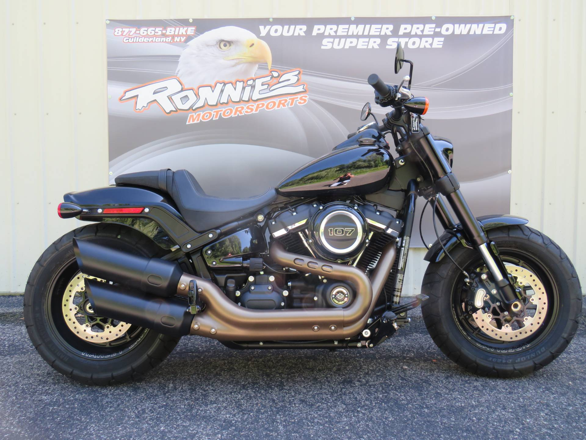 2018 Harley-Davidson Fat Bob® 107 in Guilderland, New York - Photo 1
