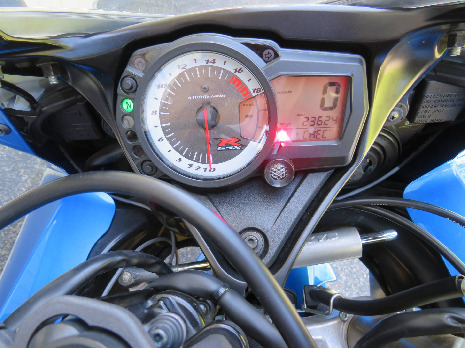 2009 Suzuki GSX-R600™ in Guilderland, New York - Photo 4