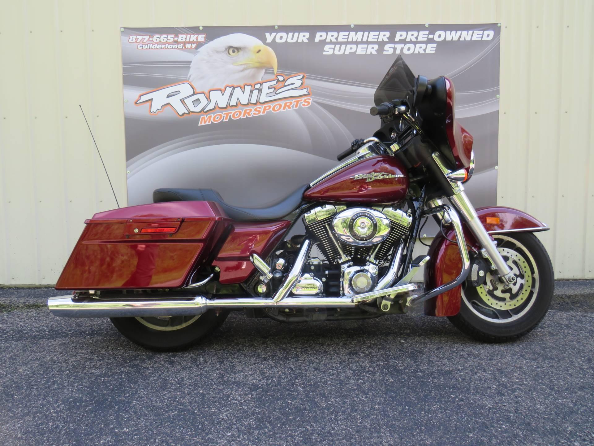 Used 2008 Harley-Davidson Street Glide® Motorcycles in