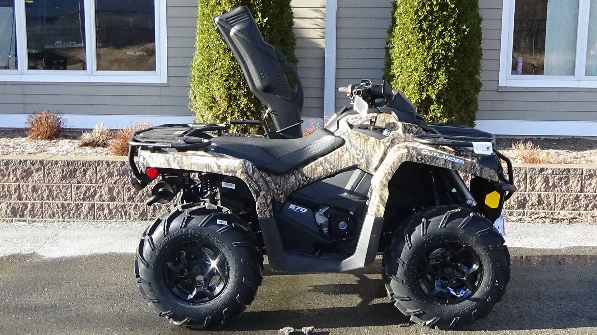 New 2019 Can-Am Outlander Mossy Oak Hunting Edition 570 ATVs