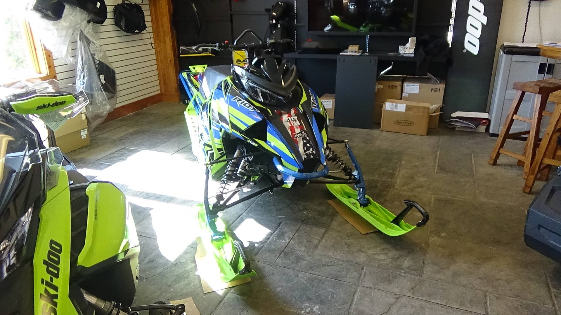 2020 Arctic Cat Riot X 8000 ES in Bennington, Vermont - Photo 2