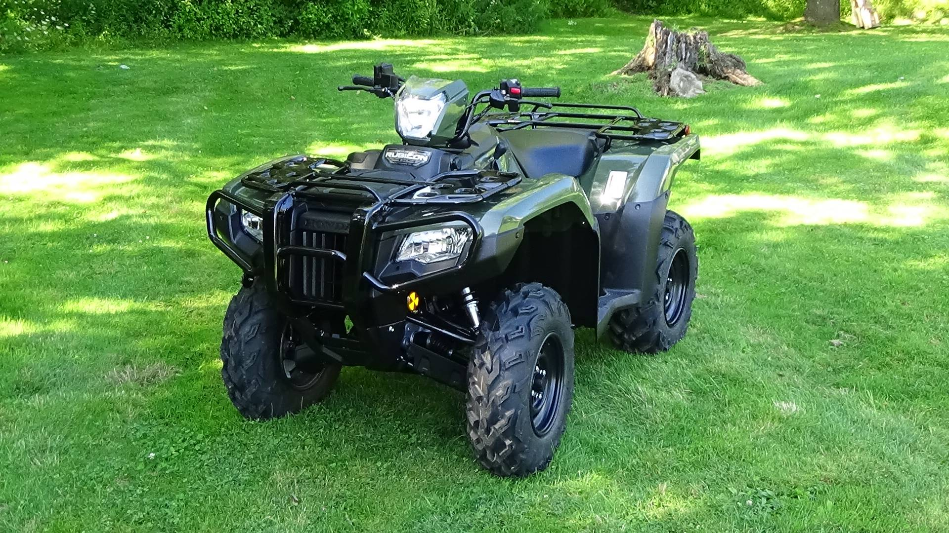 2020 Honda FourTrax Foreman Rubicon 4x4 Automatic DCT EPS in Bennington, Vermont - Photo 9